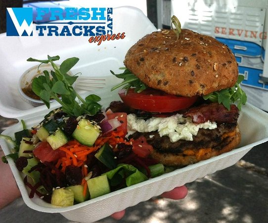 Fresh Tracks Cafe Express: AAA Angus Burger