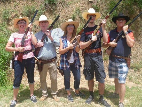 San Antonio Western Shooting: the magnificent 5 !