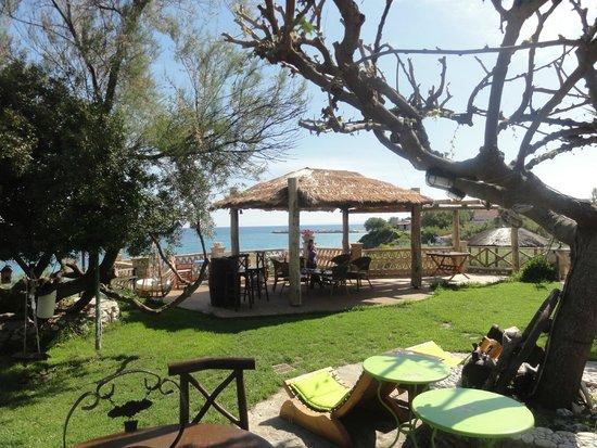 Porta del Mar Beach Hotel: View from garden