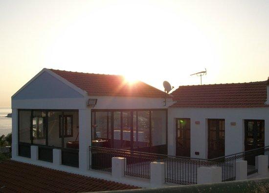 Camari Garden Hotel Apartments: sunrise