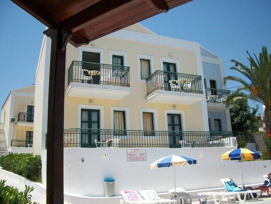 Camari Garden Apartments: our second floor balcony