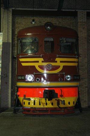 Railway History Museum: monster diesel
