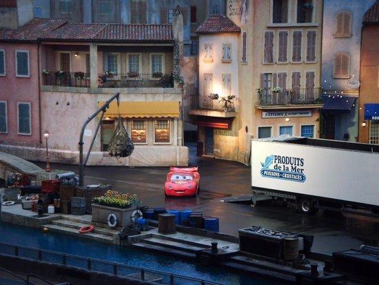 Walt Disney Studios Park: Espectaculo de coches