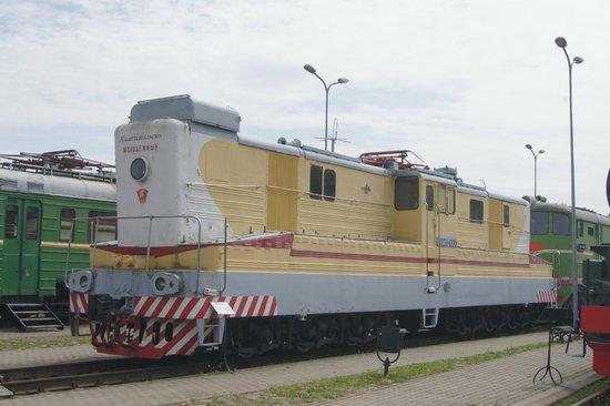 Railway History Museum: another monster diesel