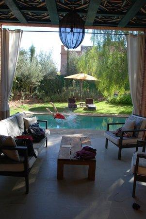 Tigmiza - Suites & Pavillons: Private pool/terrace