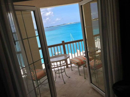 Rosewood Bermuda : View from our 4th floor terrace was BREATHTAKING.