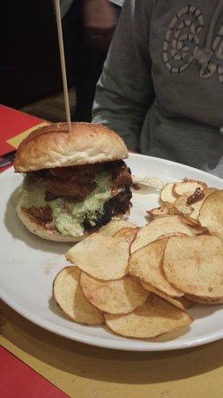 hamburger alla parmiggiana