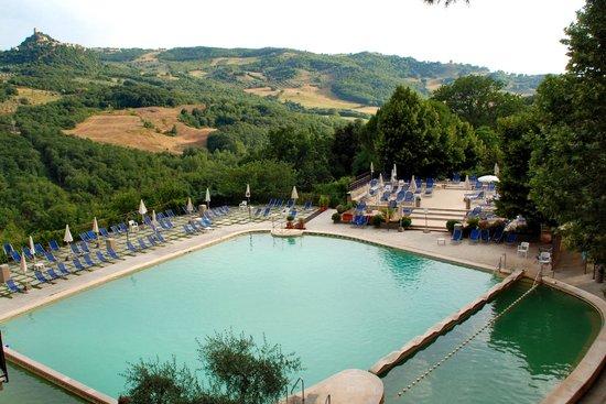 Vasche esterne picture of albergo posta marcucci bagno - Bagno vignoni hotel posta marcucci ...