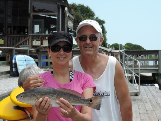 Catch-1 Charters - Capt. Shannon's Fishing Charters: One of my husband's catches