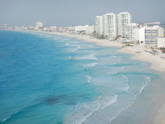 Krystal Grand Punta Cancun: View from Suite