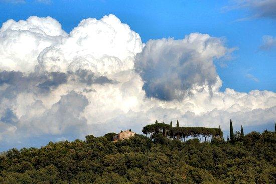 Albergo Posta Marcucci: Panorama dall'Hotel