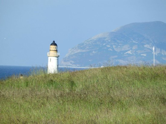 Malin Court Hotel: Turnberry lighthouse and Ailsa Craig