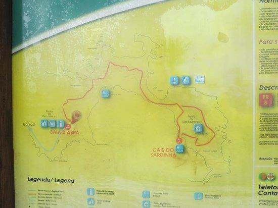 Ponta de Sao Lourenco: Route Map