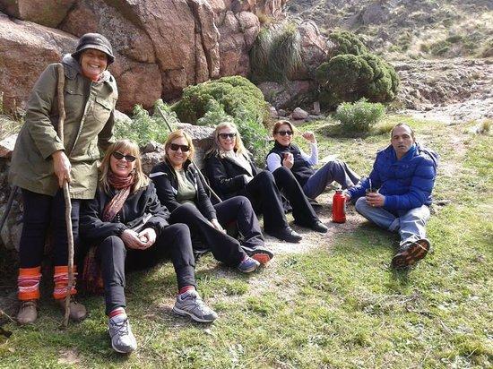 Cerro Uritorco: Unos buenos mates