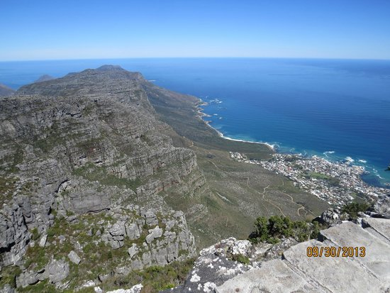 Table Mountain Aerial Cableway: Looking South from Table Mountain