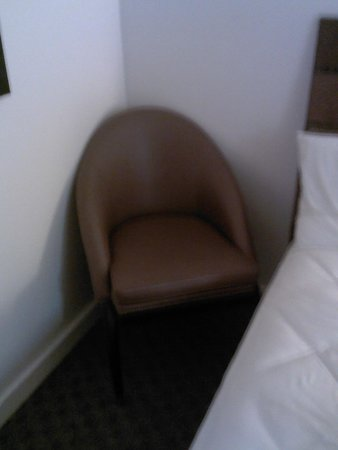 Beach Tower By The Sea: The only chair in the room