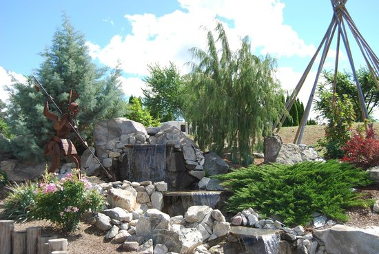 Nk'Mip Campground & RV Resort : Entrance to Nk Mip