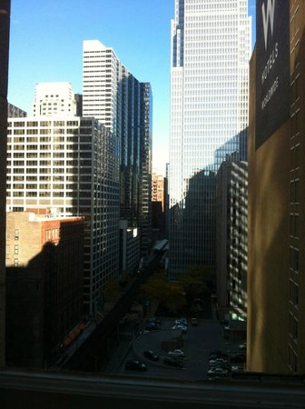 JW Marriott Chicago : View from Executive Lounge