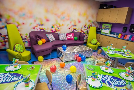 Party Room - Picture of Kids Quest and Cyber Quest at Sands ...