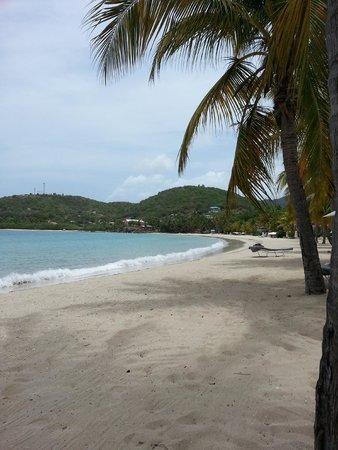 Carlisle Bay Antigua : Afternoon tea on the beach