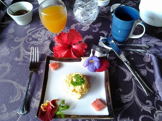 Coral Hill Bungalows : Café da Manhã