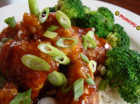 Nanking - Manhattan : tso chicken