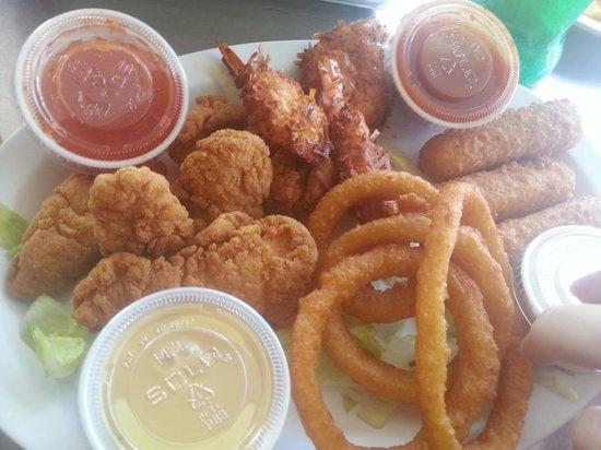 Deck Restaurant At Sea Club: tasty appetizer