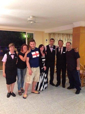 Hotel Tamarix: members of staff, all great- very helpful