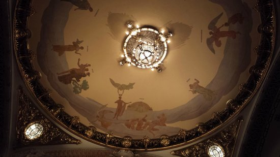 Theatro Municipal De Sao Paulo: Teto do teatro