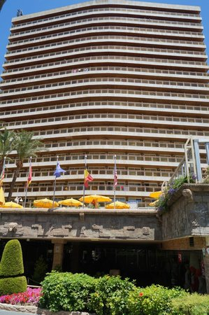 Hotel Don Pancho : 17 floors and all rooms face the sea