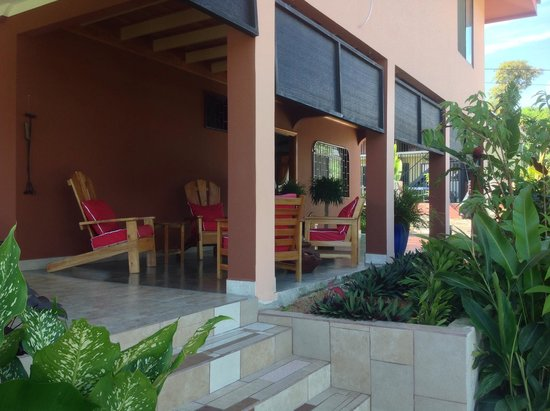 Hotel Inn Jimenez : Outdoor Sitting Area