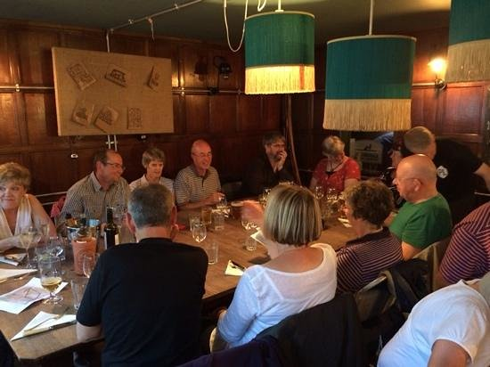 The Cambridge Brew House: start of dinner at the Cambridge Brewhouse