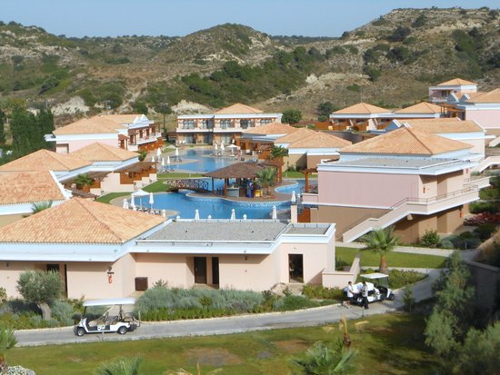 La Marquise Luxury Resort Complex: Adult pool area from roof terrace