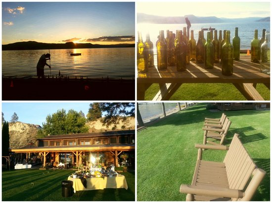 Sandy Beach Lodge Resort: In the heart of wine BC wine country.