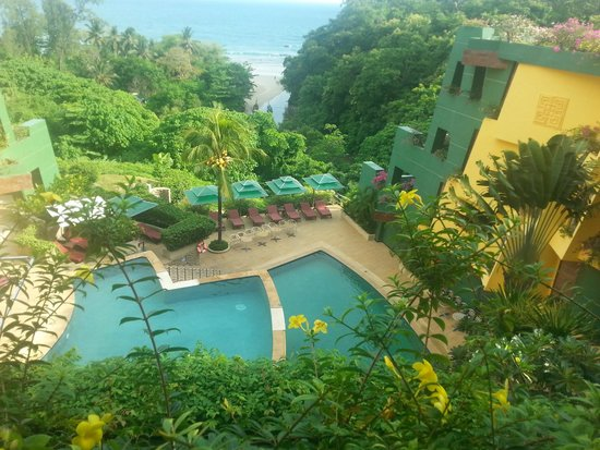 The Aspasia Phuket: view of the pool from lobby
