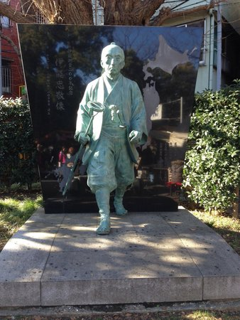 Asakusa Shrine: The first person to map Japan