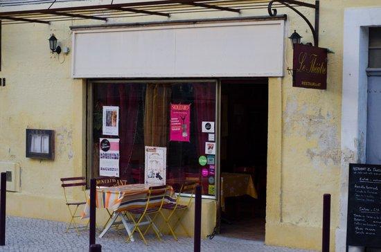 Restaurant Le Theatre : View of Le Theatre.