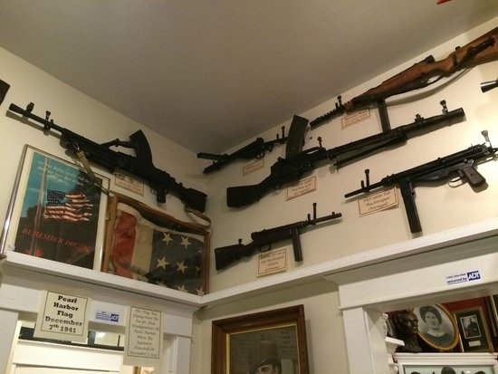 Gettysburg Museum of History: They have rare guns too