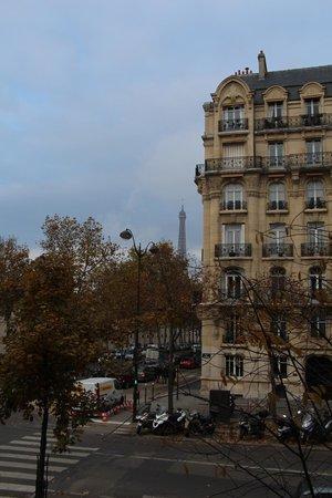 Hotel Duquesne Eiffel: view