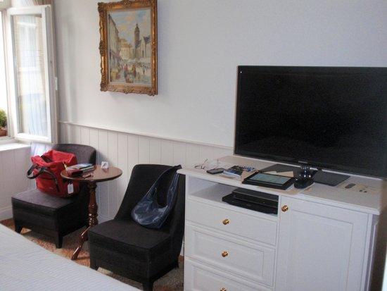 Hotel Prinsenhof Bruges: small room