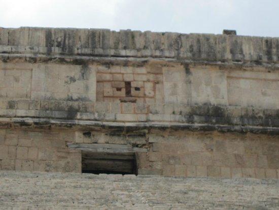 Chichén Itzá : face