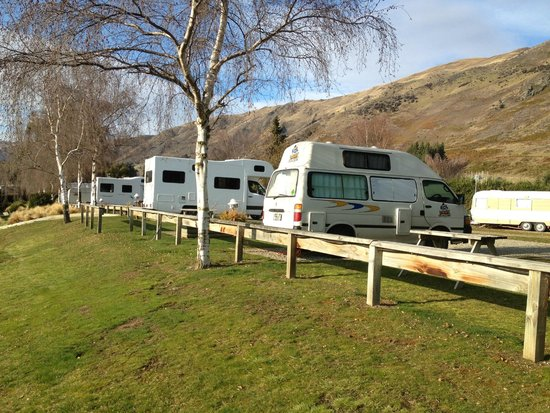 Wanaka Top 10 Holiday Park: Camper Van Sites