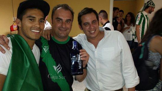 La Cuchara de San Lorenzo: Celebrando con el autor del gol q nos hizo subir a primera