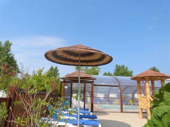 Camping Le Moulin de Kermaux: Piscine très propre comme le camping point ++