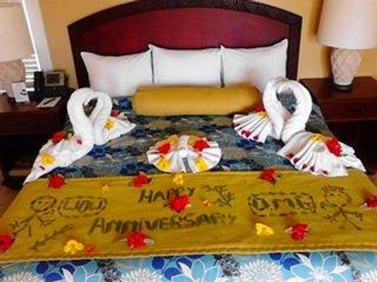 Magdalena Grand Beach & Golf Resort: Happy Anniversary