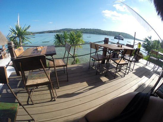 Le Pirate Beach Club Hotel Nusa Ceningan: view from the restaurant