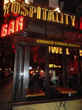 Southern Hospitality BBQ: Frente do restaurante