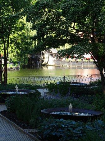 Jardines Tivoli: part of the gardens