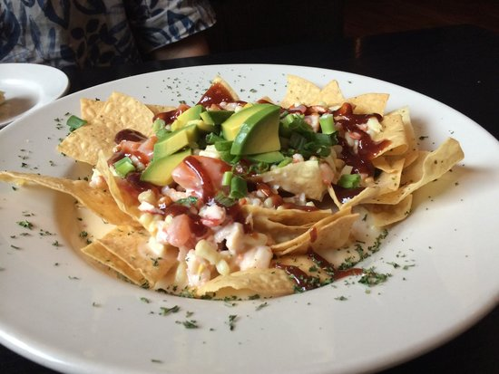 lobster nachos picture of 2520 tavern clemmons tripadvisor