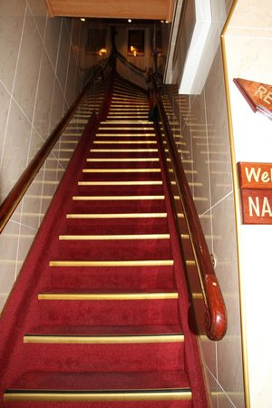 Hotel Nadia: The stairs